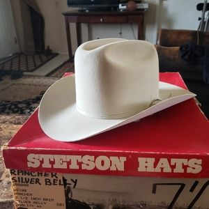 Stetson SilverBelly Rancher 4X